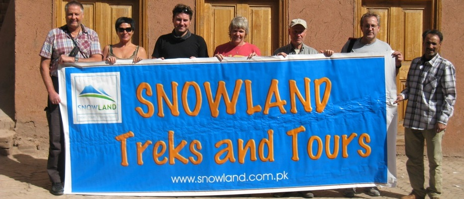 Snowland Group in Kashgar